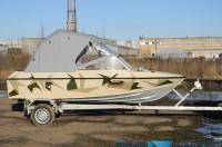 Ходовой тент «Троллинг» для лодки Крым-3 - видеообзор