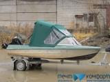 Ходовые тенты для лодок - модель «Троллинг» - фотогалерея