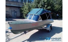 Ходовые тенты для лодок модель «Рубка»- фотогалерея