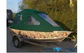 Ходовые тенты для лодок модель «Рубка-БС» - фотогалерея