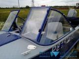 Нестандартные лобовые стекла для лодок - фотогалерея