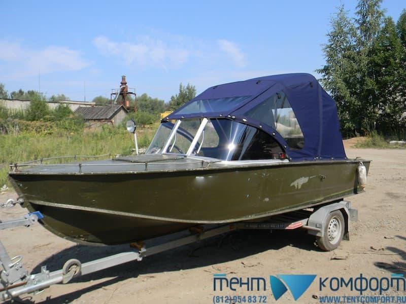 """Ветровое стекло для лодки - модель """"НСК"""""""