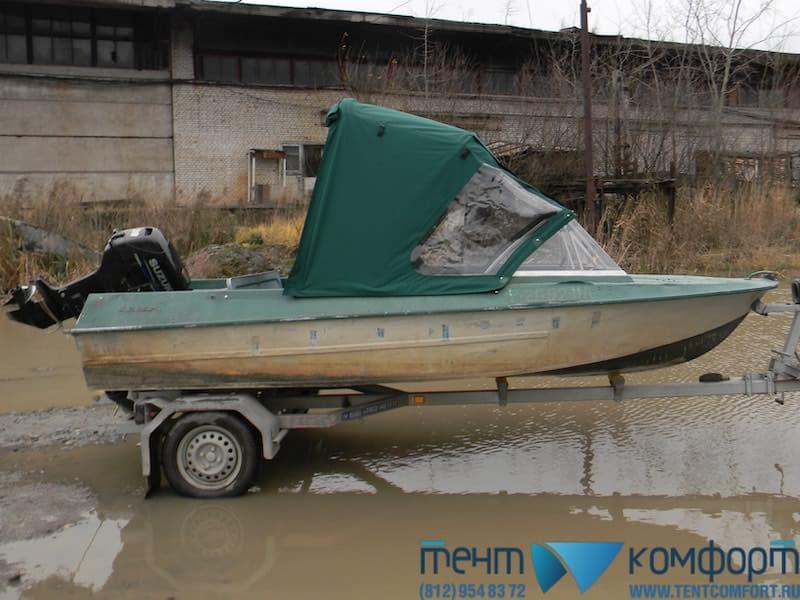 Ходовой тент на Крым в положении