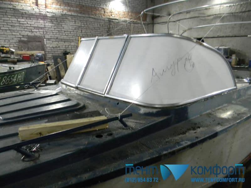 Лобовое стекло для катера Амур-Д