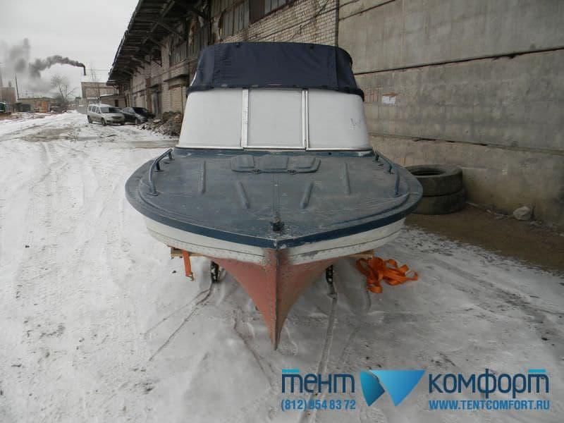 Ходовой тент катера Амур-Д