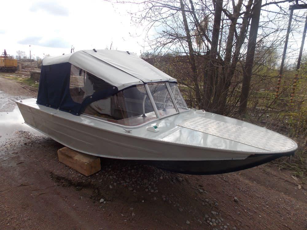 Ходовой тент для лодки Днепр