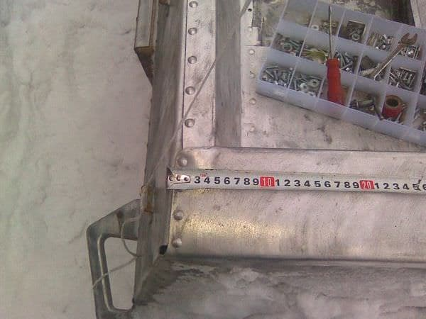 Установка дуг для тента на лодку Казанка-5