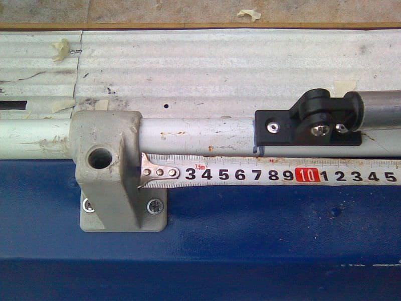 Установка дуг для тента на лодку Обь-3