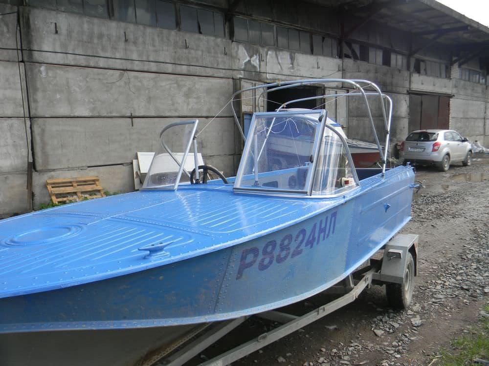 Лобовое стекло для Лодки Казанка-2М