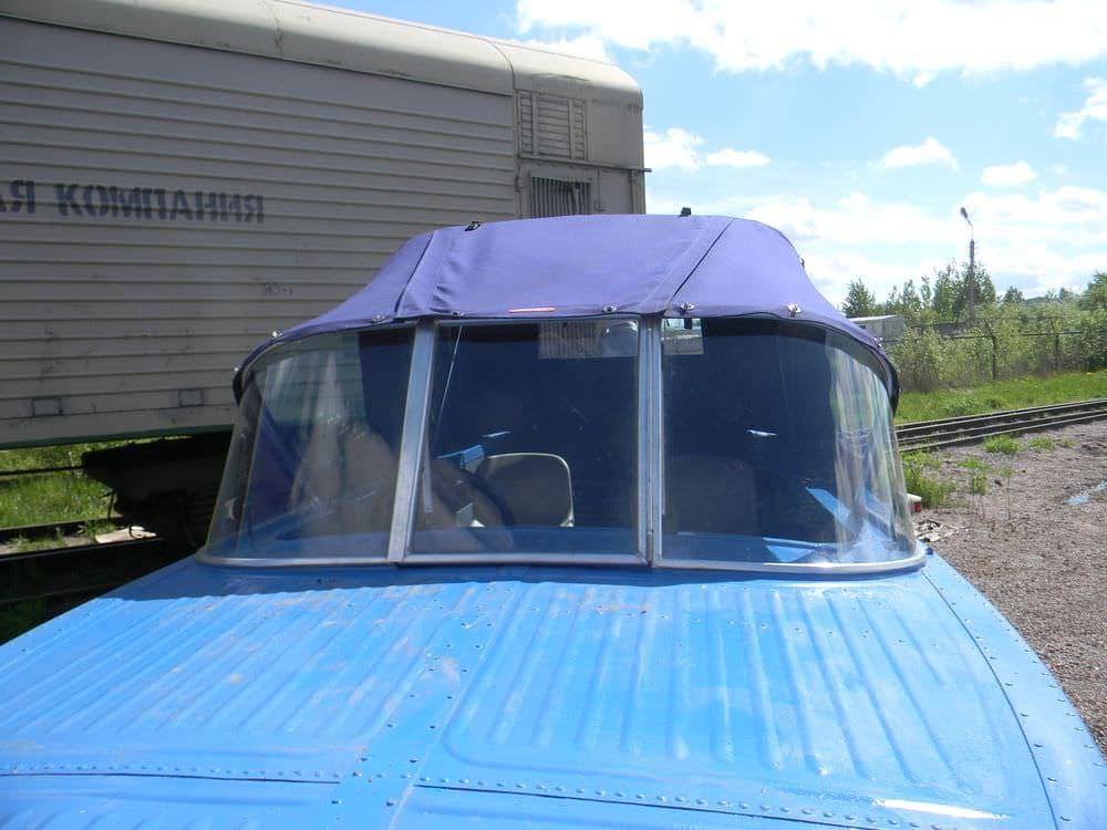 Ходовой тент на лодку Казанка 2М
