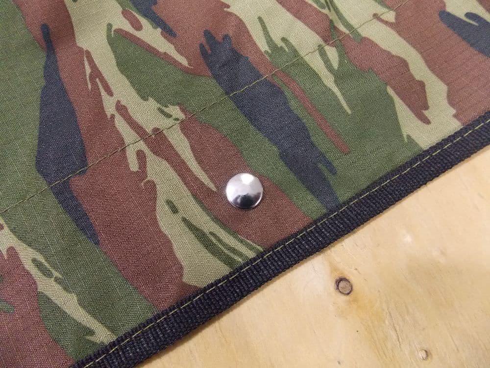Установка тента на лодку с крепежом кнопка