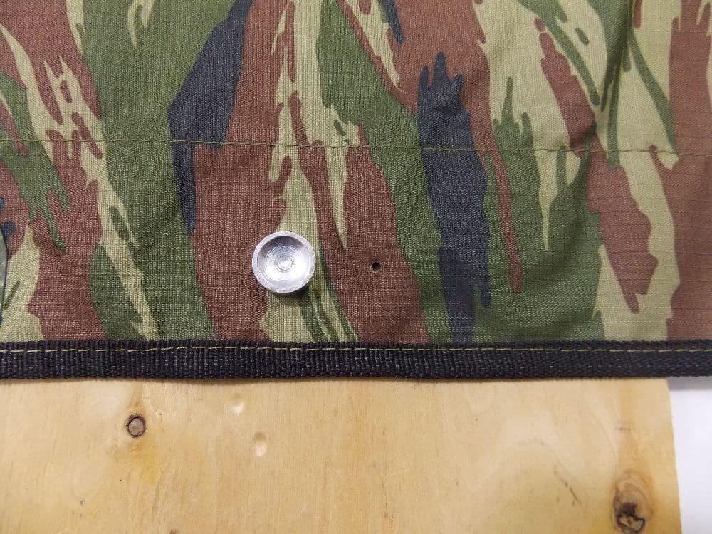 Установка тента на лодку с крепежом типа кнопка