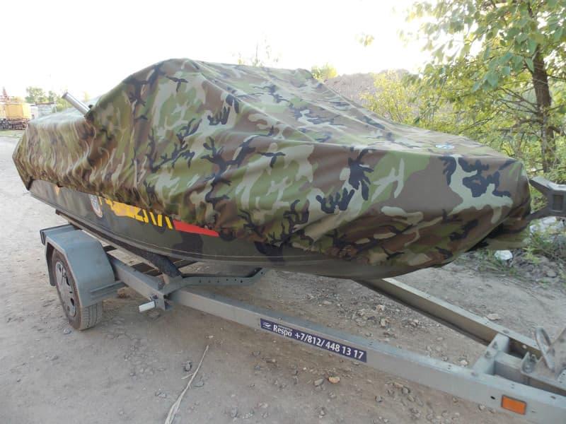 Транспортировочный тент для лодки Неман-2