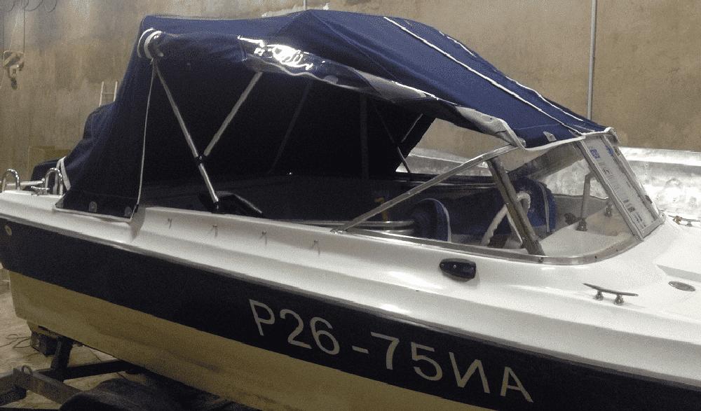 Ходовой тент лодки для Нептун 400