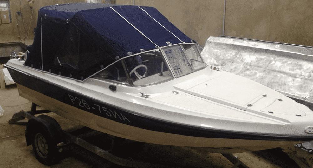 Ходовой тент лодки Нептун 400