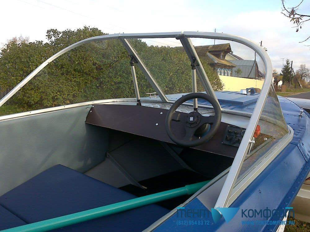 Лобовое стекло для лодки Ока-4