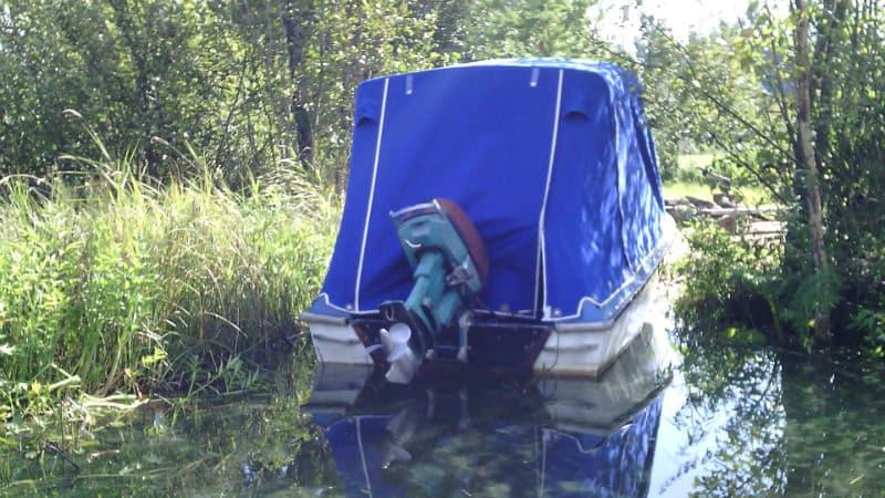 тент от лодки казанка на лодку Ладога