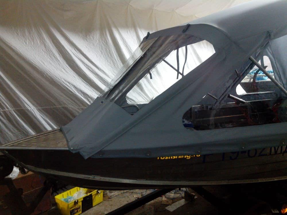 Тент на Windboat-38M