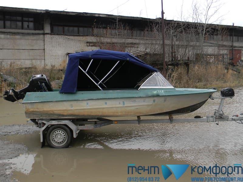 "Ходовой тент на Крым в положении ""Биминитоп"""