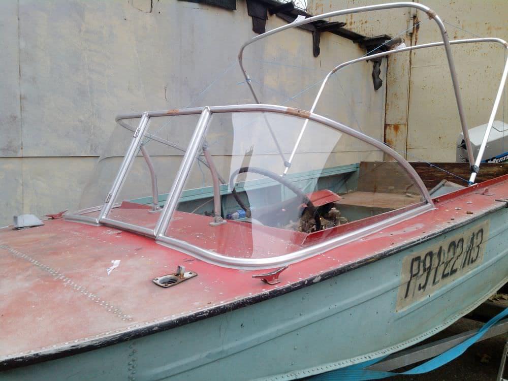 изготовление стекла на лодку из