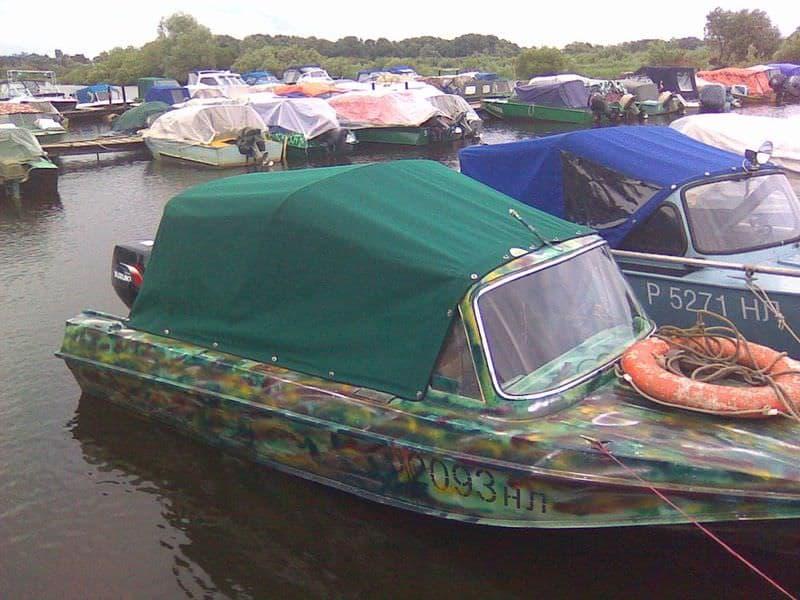 купить тент на лодку казанка 5м3 в самаре