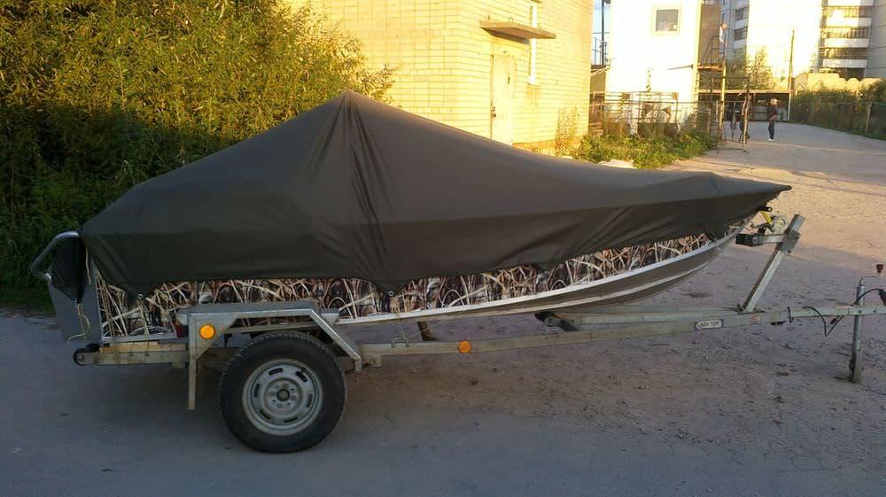 ходовой тент для гребной лодки пвх