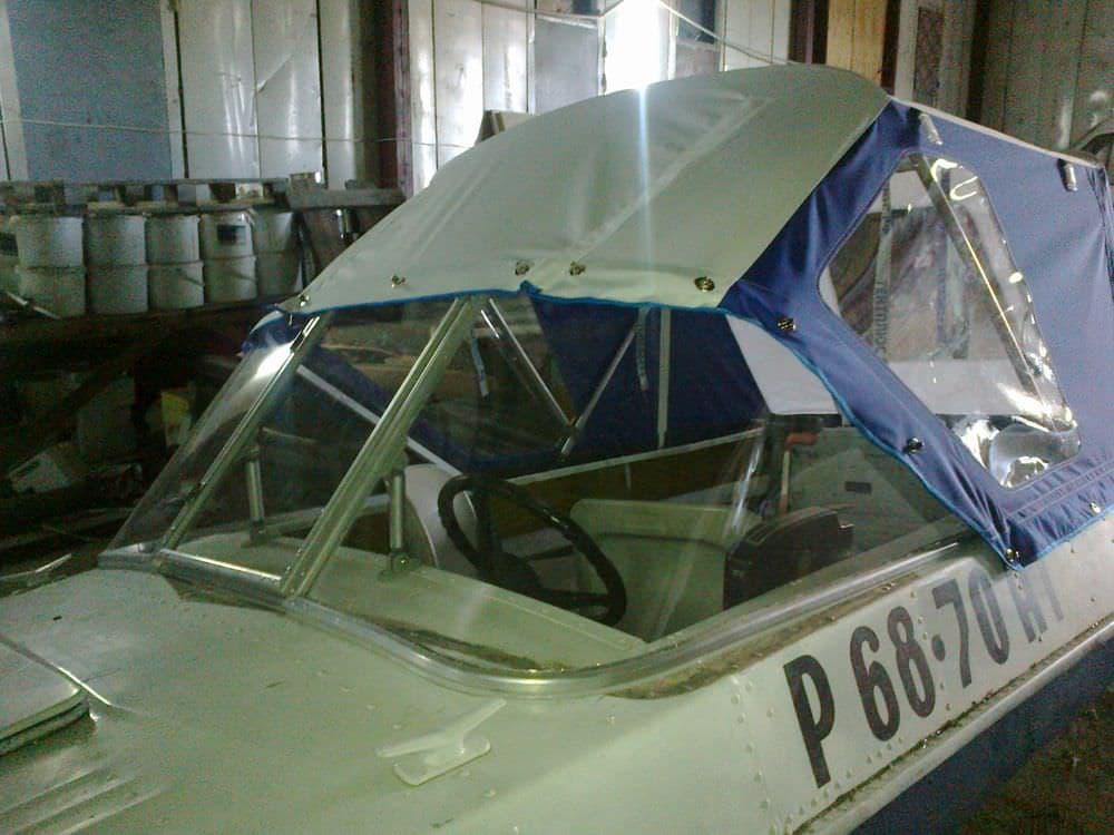 Изготовление лобового стекла на лодку своими руками 78